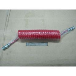 BH. Шланг пневматический силиконовый М22 красный