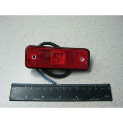 BH. Лампа габаритная,светодиодная малая 24 V,красная