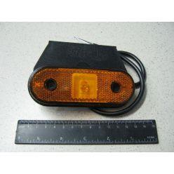 BH. Лампа габаритная,светодиодная малая 24 V,желтая