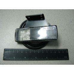 BH. Лампа габаритная LED отражающая 12/24V белая,левая