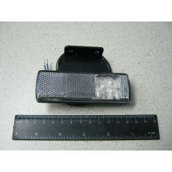 BH. Лампа габаритная LED отражающая 12/24V белая,правая