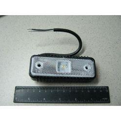 BH. Лампа габаритная LED отражающая 12/24V белая,