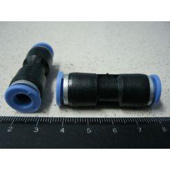 BH. Фитинг воздушный пластик,прямой d-7