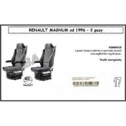 Чехол Saba на Renault Magnum от 1996года , 2ремня