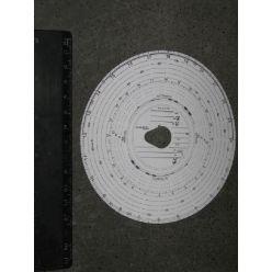 Карта тахографа (универсальная) компл. 100 шт (пр-во Peters)