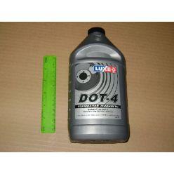 Жидкость торм. DOT-4 LUXЕ 800г сереб.кан