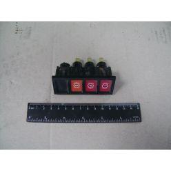 Блок ламп контрольных щитка приборов